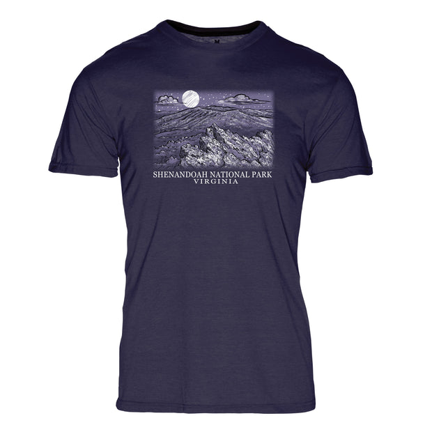 Night Sky Shenandoah National Park REPREVE® Crew T-Shirt