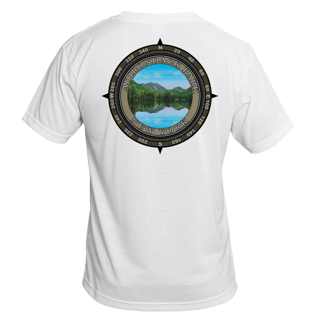 Retro Compass Adirondack Park Basic Performance T-Shirt