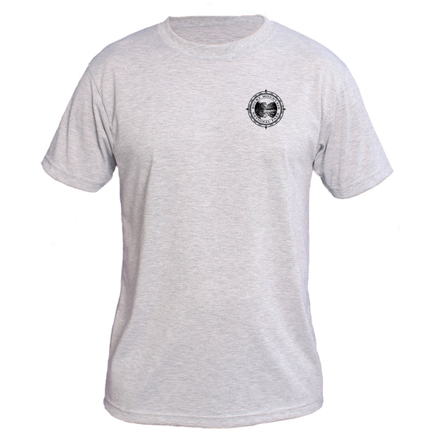 Retro Compass Rocky Mountain National Park Basic Performance T-Shirt