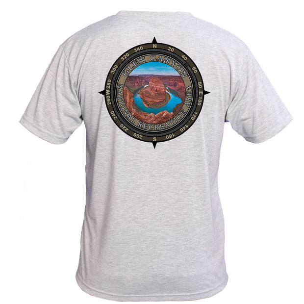 Retro Compass Glen Canyon National Recreation Area Basic Performance T-Shirt