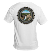 Retro Compass Yellowstone National Park Basic Performance T-Shirt
