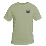 Retro Compass Arches National Park Basic Performance T-Shirt