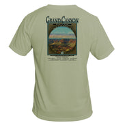 Retro Interpretive Grand Canyon Basic Performance T-Shirt