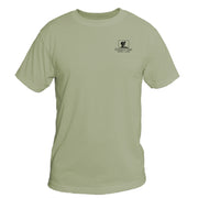 Retro Interpretive Chilkoot Trail Basic Performance T-Shirt