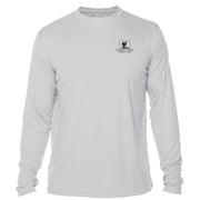 Retro Interpretive Chilkoot Trail Microfiber Long Sleeve T-Shirt