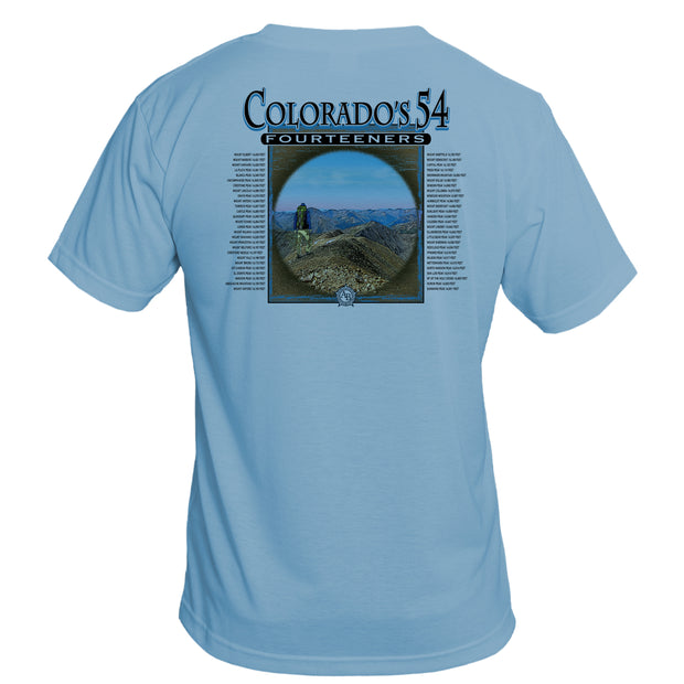 Retro Interpretive Colorado's 54 Basic Performance T-Shirt