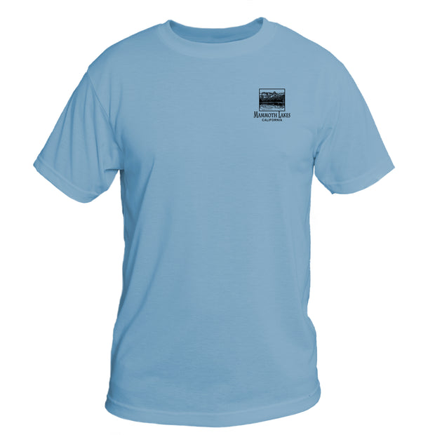 Retro Interpretive Mammoth Lakes Basic Performance T-Shirt