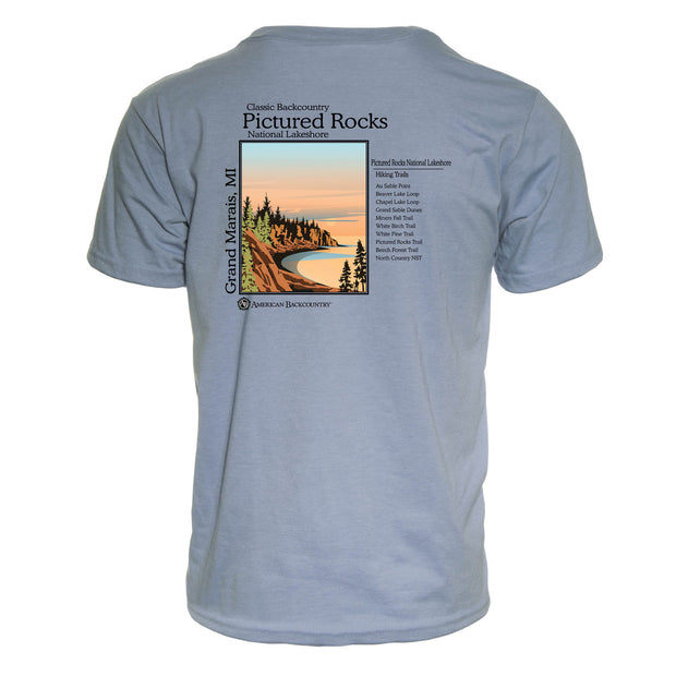 Pictured Rocks Classic Backcountry Repreve Crew T-Shirt
