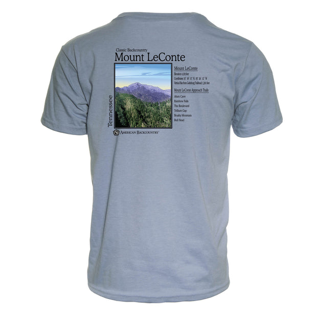 Mount Le Conte Classic Backcountry Repreve Crew T-Shirt