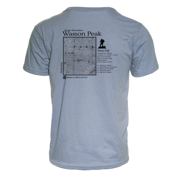 Wasson Peak Classic Mountain Repreve T-Shirt