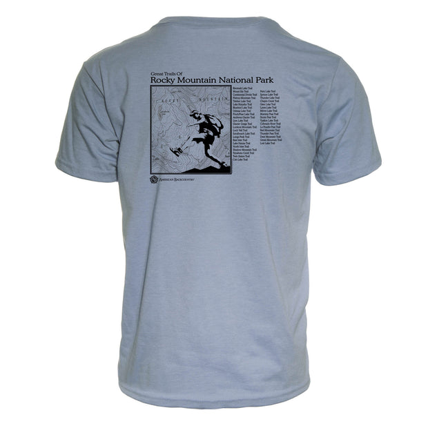 Rocky Mountain National Park Great Trails REPREVE® T-Shirt