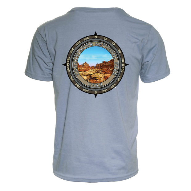 Retro Compass Canyonlands National Park REPREVE® T-Shirt