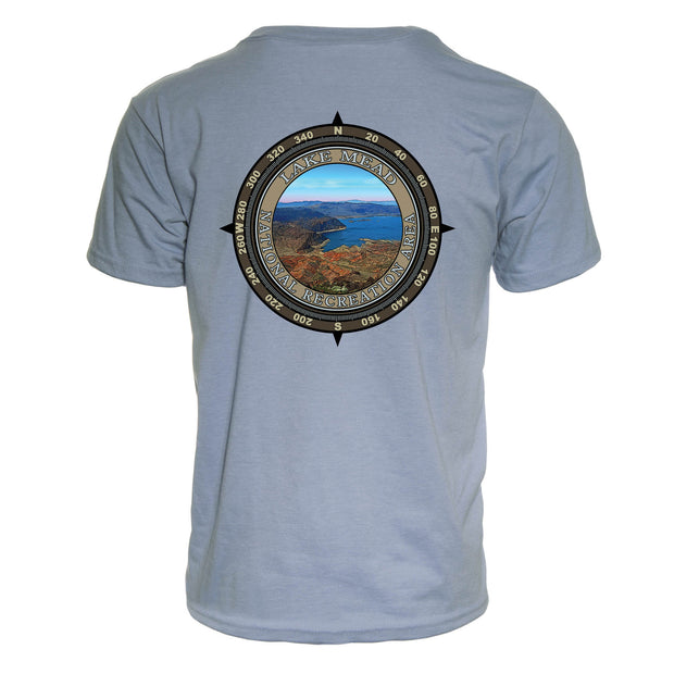 Retro Compass Lake Mead National Recreation Area REPREVE® T-Shirt