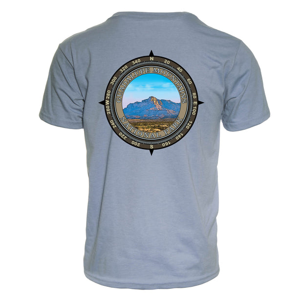 Retro Compass Guadalupe Mountains REPREVE® T-Shirt
