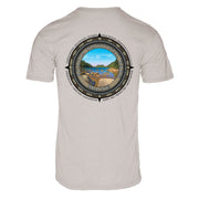 Retro Compass Acadia National Park REPREVE® T-Shirt