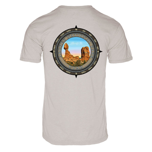 Retro Compass Arches National Park REPREVE® T-Shirt