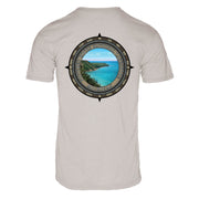 Retro Compass Pictured Rock REPREVE® T-Shirt
