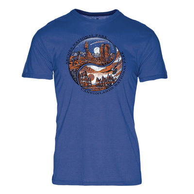 Ying Yang Arches National Park REPREVE® Crew T-Shirt