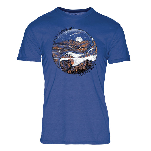 Ying Yang Rocky Mountain National Park REPREVE® Crew T-Shirt