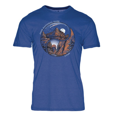 Ying Yang Zion National Park REPREVE® Crew T-Shirt