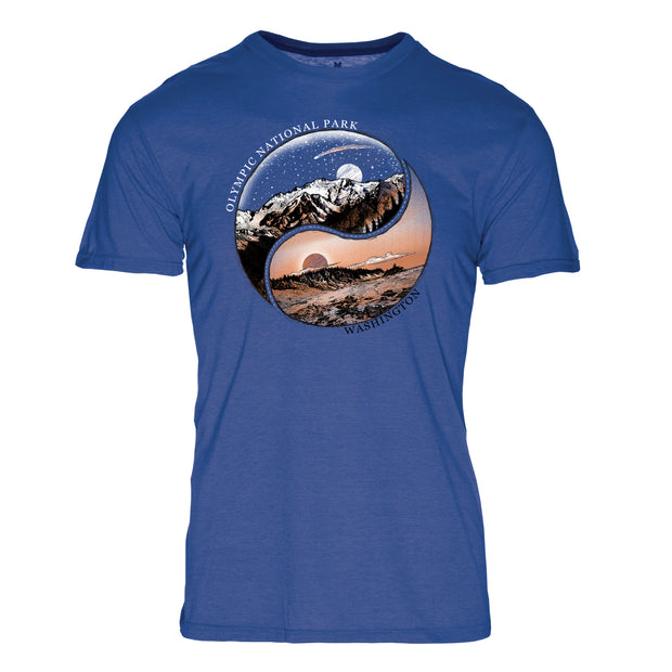 Ying Yang Olympic National Park REPREVE® Crew T-Shirt