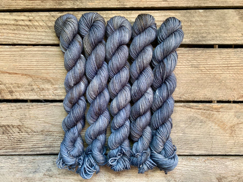 """Ice Grey"" Mini Skein"