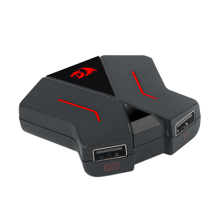 Adaptador de Teclado e Mouse Redragon para Consoles PS4, Xbox One, Nintendo Switch - GA-200