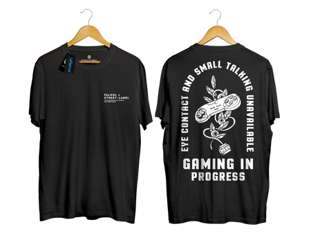 Camiseta Gaming in Progress