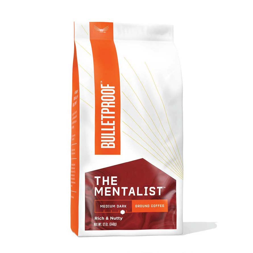 The Mentalist Medium Dark Roast - Ground