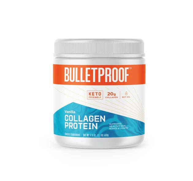 Vanilla Flavoured Collagen Protein Powder - 500gm