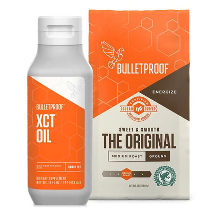 Starter Set - XCT Oil & 1 Bag of Ground Coffee