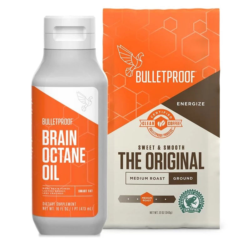 Starter Set - Brain Octane Oil & 1 Bag of Ground Coffee