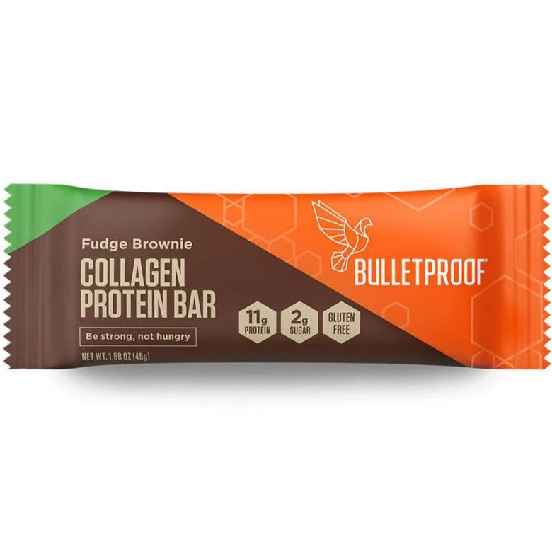Collagen Bar - Fudge Brownie - 12 Pack