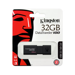 KINGSTON 32GB USB 3.0 DATATRAVELER 100 G3 - Gadgets Namibia Solutions Online Store