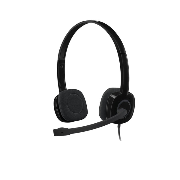 LOGITECH H111 STEREO HEADSET - ANALOGUE - Gadgets Namibia Solutions Online Store