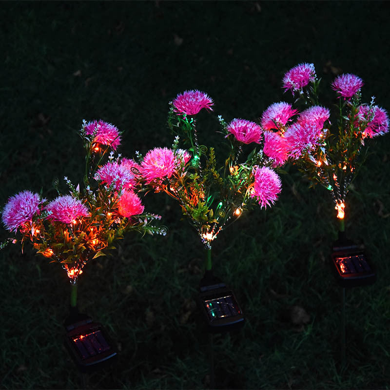 Solar Powered Dandelion Light