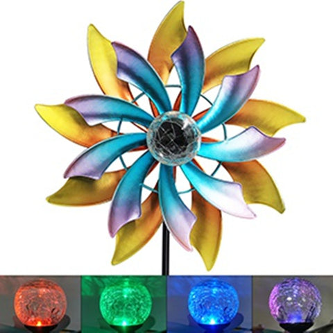 Colorful Sola Wind Spinner