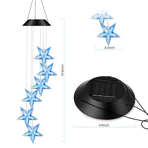 Solar-Powered  Star Light