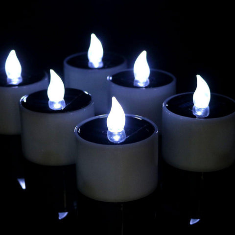 Solar Candles Outdoor Flameless Flickering light