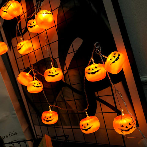Halloween Pumpkin String Lights