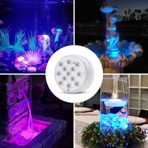 16 Colors LED Pool Lights