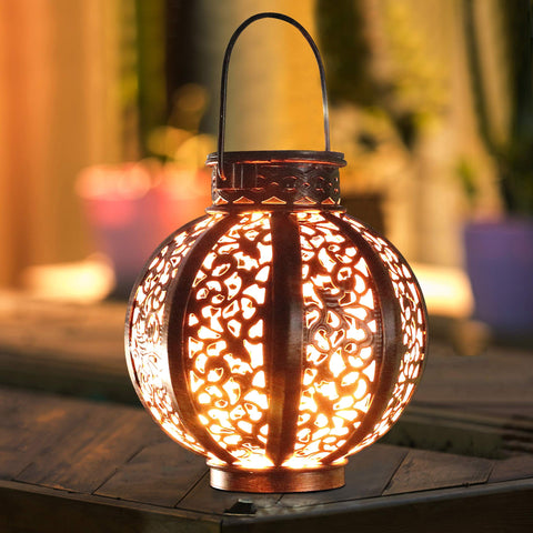 Solar Retro Hanging Light