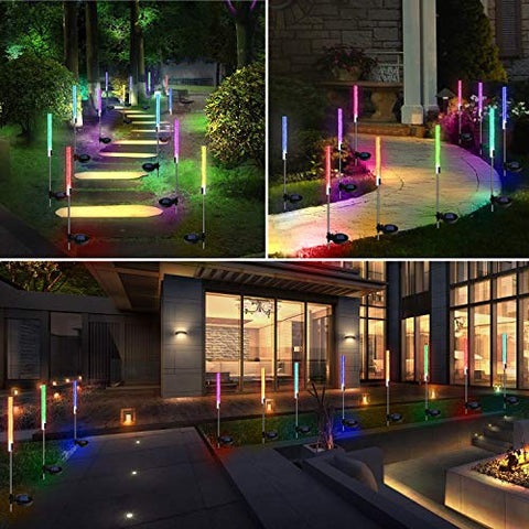 Solar Powered Bubble Light - 2 Pack