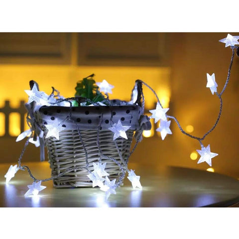 100 LED Star String Holiday Light