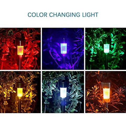 10 PCS Solar Garden Lights