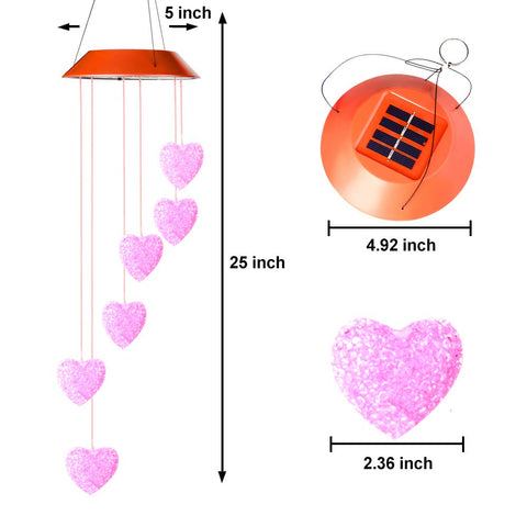 Heart Shape Solar Light