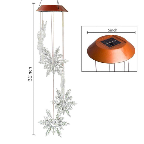 Snowflake Solar Light