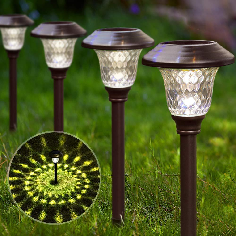 Solar-Powered Landscape Light