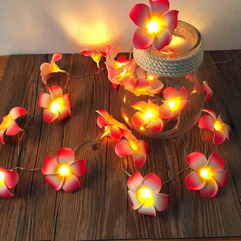 Plumeria Flower Fairy Light