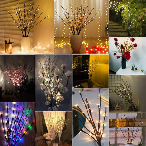 LED Twig Lighted Branch